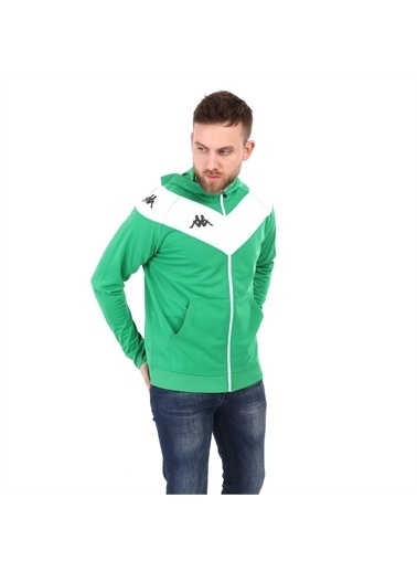 Kappa Kapüşonlu Ceket Belıgıo Yeşil